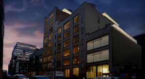 MSA NYC Architects - High Line Rooftop Addition Night View