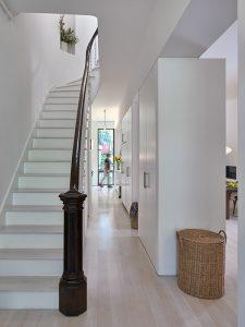 Dean Street Residential Brownstone Architect Stairway