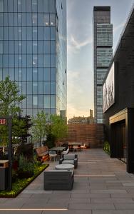 Park Avenue Rooftop Entrance