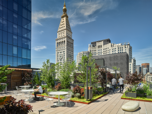 Park Avenue Rooftop South Seating Areas