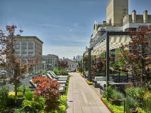 Park Avenue South Rooftop Seating Areas