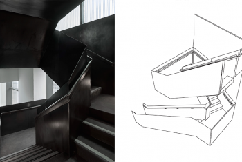 3D Modeling for NYC Architects - Staircase Image