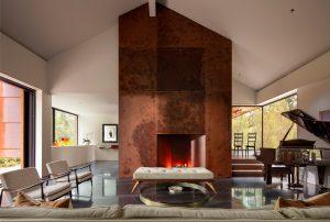 Greenwich Residence Fireplace
